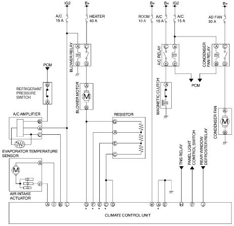 Mazda Protege WiringDiagram