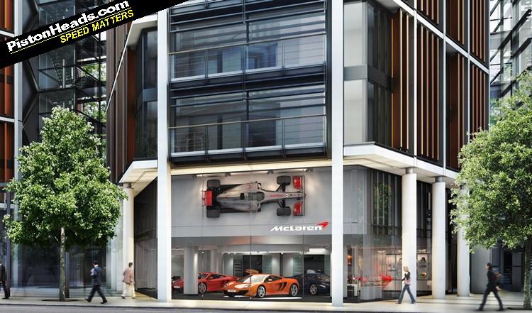 McLaren Bags Top London Address