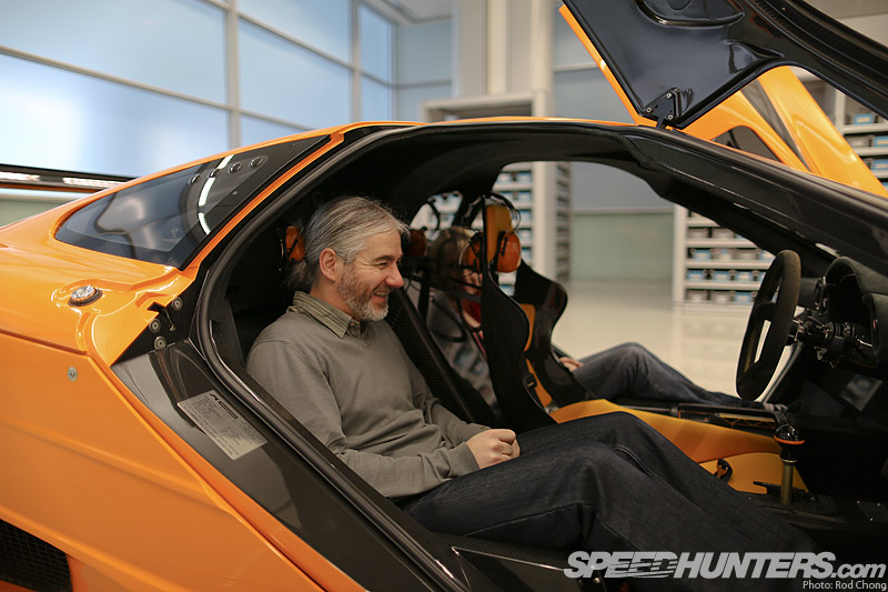 McLaren F1 Lm Interior