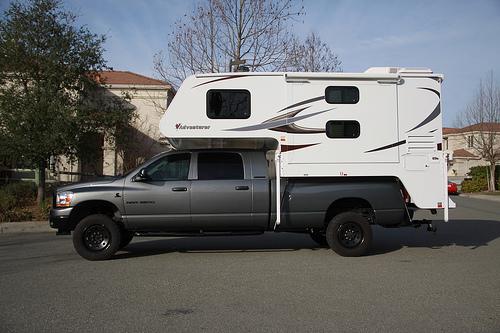 Mega Cab Long Bed Truck Camper