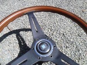 Mercedes Benz Nardi Wood Steering Wheel Jaguar Porshe Saab Triumph MG