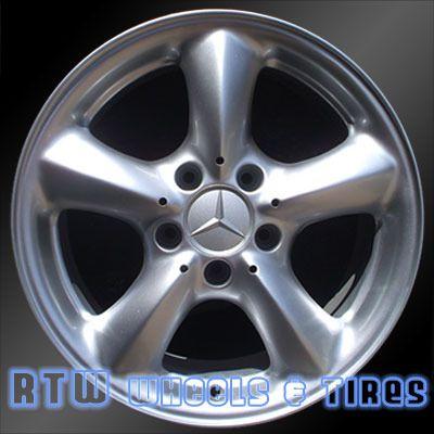 "Mercedes C230 C320 C350 CLK320 17"" 0306 FRONT Factory Wheel Alloy OEM"