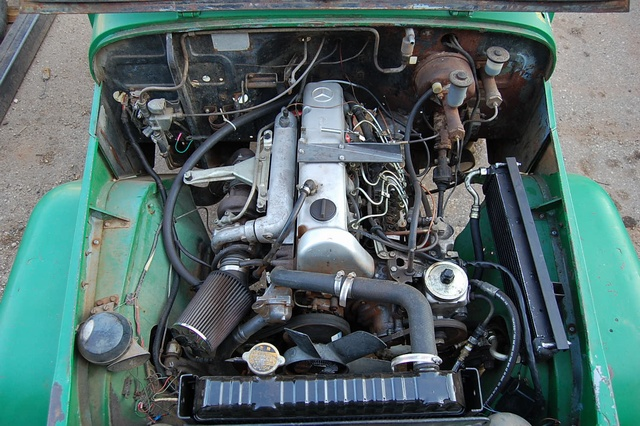 Mercedes Engine Balance Shaft
