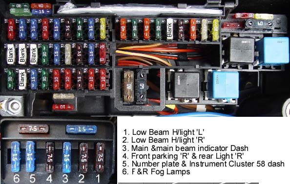 Ml320 Fuse Box | Wiring Diagram on