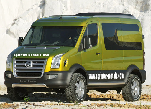 Mercedes Sprinter Passenger Van Rental