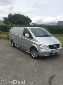 Mercedes Vito 115CDI LWB For Sale in Dublin : ?6,500  DoneDeal.co