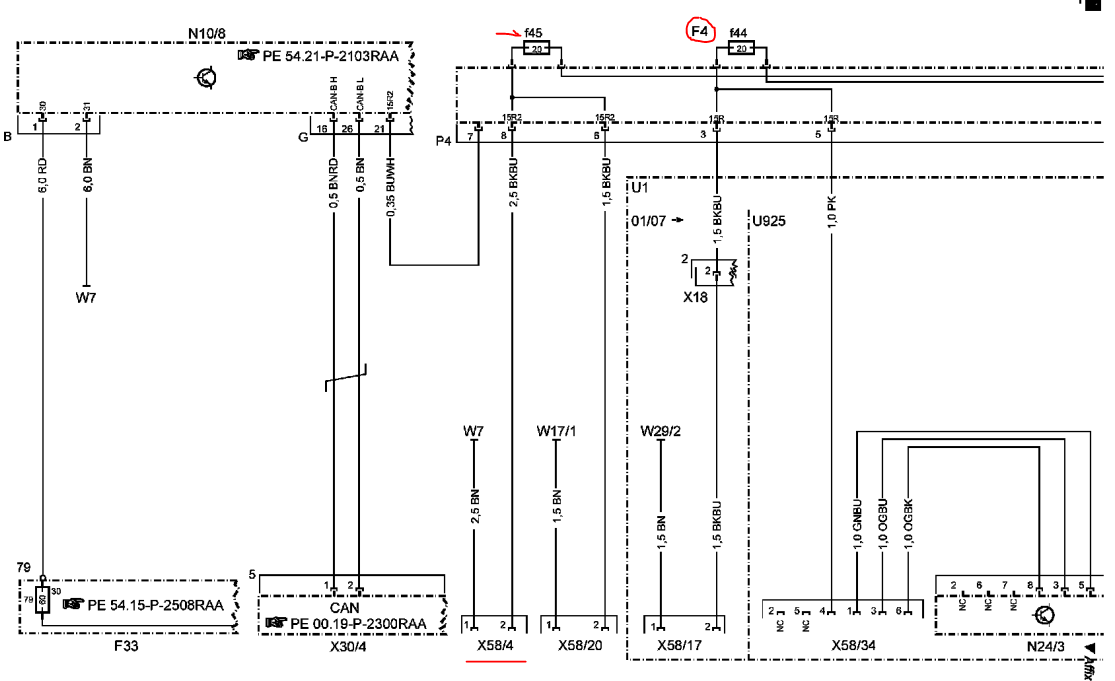 MercedesBenz 2008 ML350 Fuse Diagram