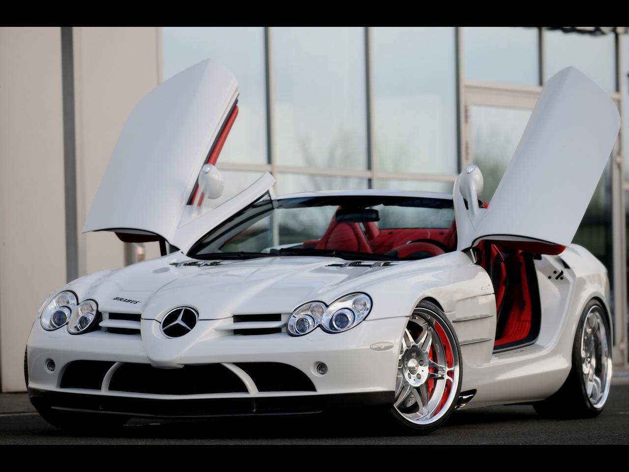 MercedesBenz SLR McLaren White