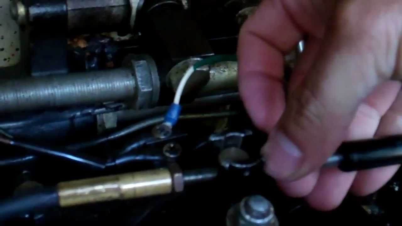 Mercruiser Shift Cable Adjustment