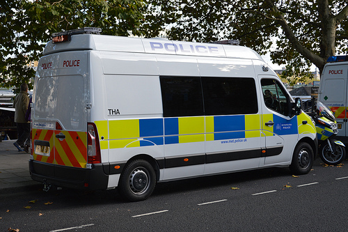 Metropolitan Police / Vauxhall Movano / Commercial Vehicle Unit / THA