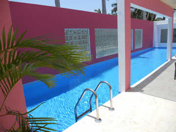 Terraria house designs image details for Miami vice pool design