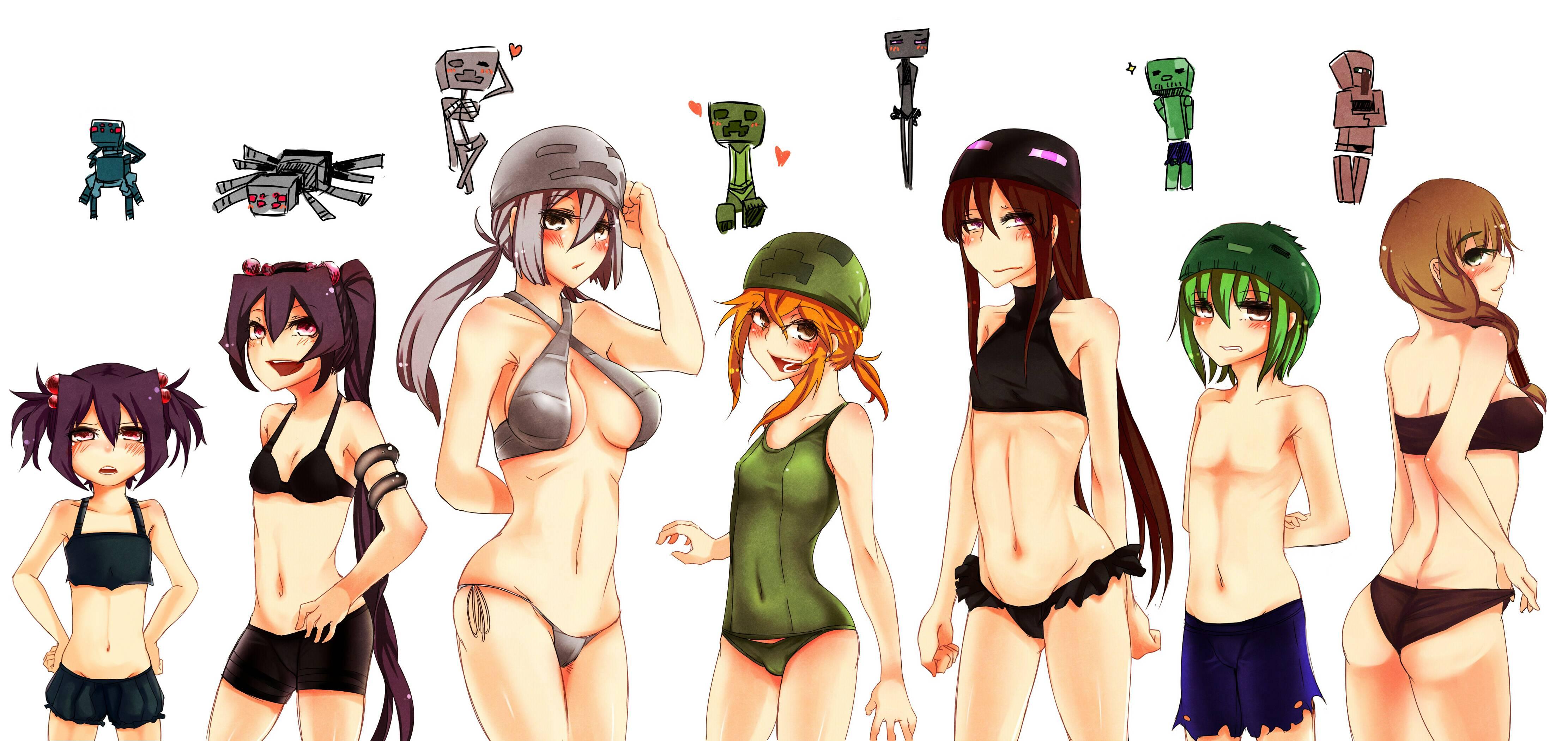 Minecraft Mob Talker Anime Girls