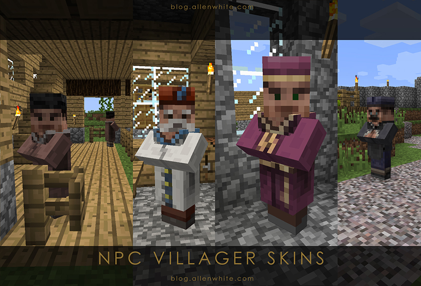 Minecraft NPC Villager Skin