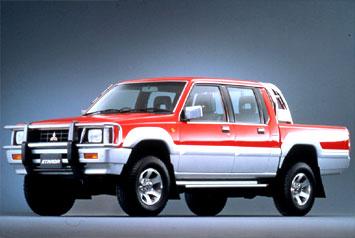 Mitsubishi Strada L200 gls merah silver Murah..!!