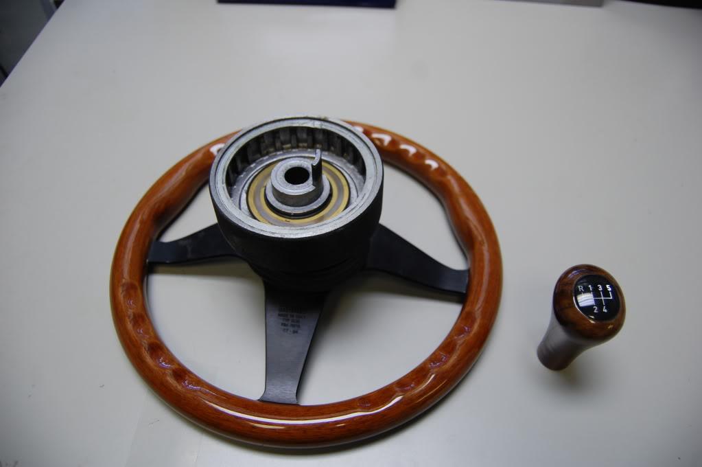Momo Wood Steering Wheel