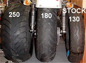 Motorcycle Tire Size Chart