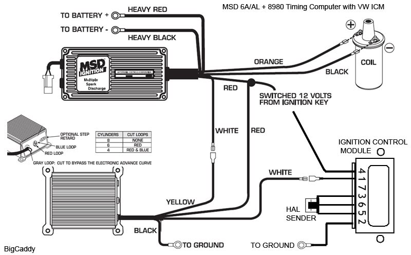 Msd 6a Wiring Diagram Chevy Hei Wiring Solutions