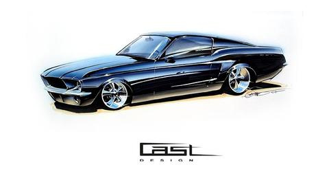 Mustang Fast Back 1967 customizing | Flickr  Photo Sharing!