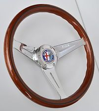 Nardi Alfa Romeo Holz Lenkrad Wood Steering Wheel Volante Legno Volant