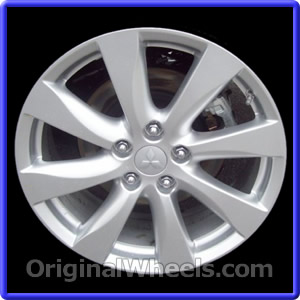 New 2012 Mitsubishi Lancer Wheels  Used 2012 Mitsubishi Lancer Rims