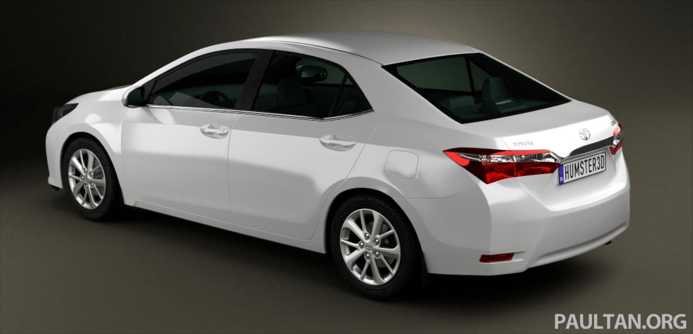 New Toyota Corolla Altis