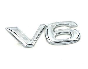 New VAUXHALL V6 BADGE Opel Vectra C & Signum 2.6 3.2 SRi GSi 20022006