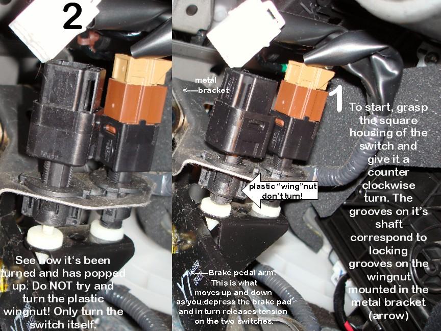 Nissan Altima Brake Light Switch