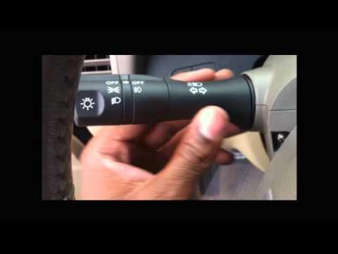 Nissan Altima Fog Light Switch