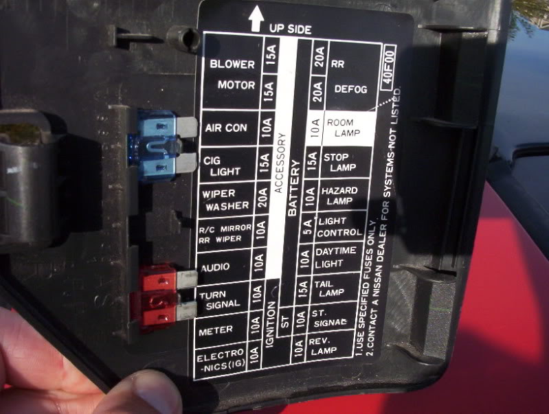 nissan altima fuse box diagram jZDqgmc 1995 nissan 240sx interior fuse box diagram brokeasshome com 2005 nissan sentra fuse box diagram at fashall.co