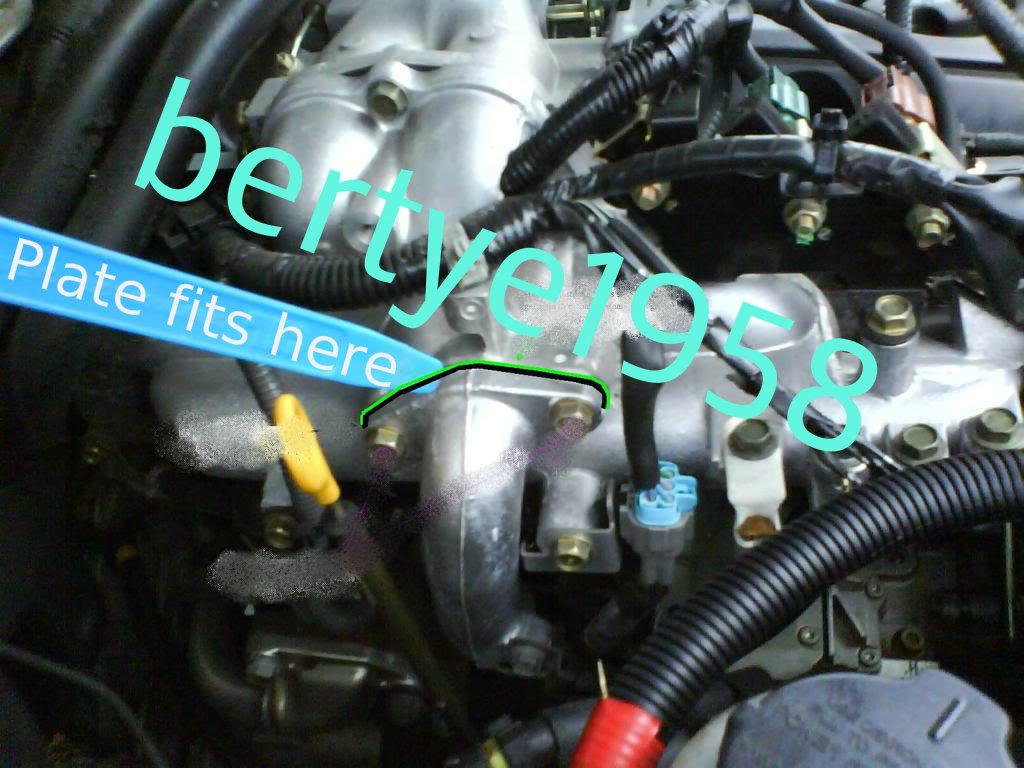Nissan EGR Valve Location On Engine