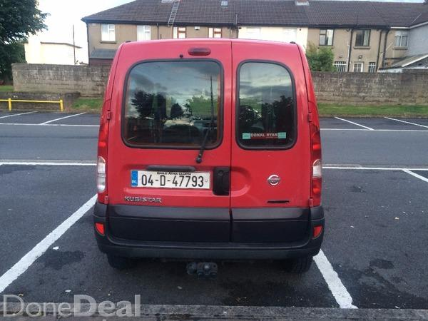 Nissan Kubistar 1.5 DCI 2004 For Sale in Dublin : ?800  DoneDeal.co