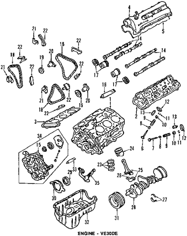 nissan v6 engine diagram nissan wiring diagrams