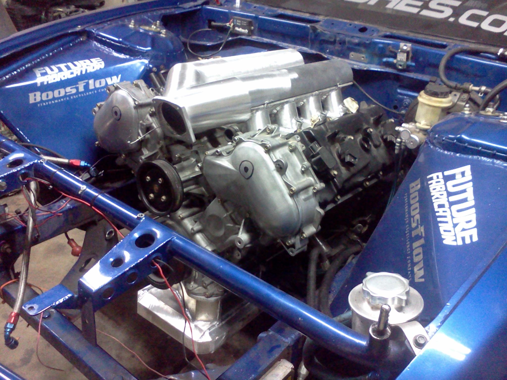 Nissan VK56 Engine Swap