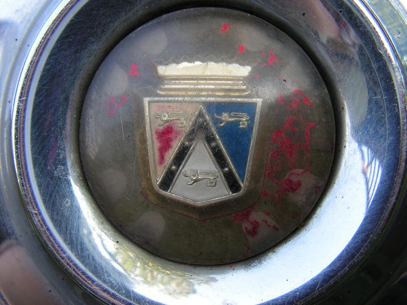 Old Vintage Ford Hubcaps