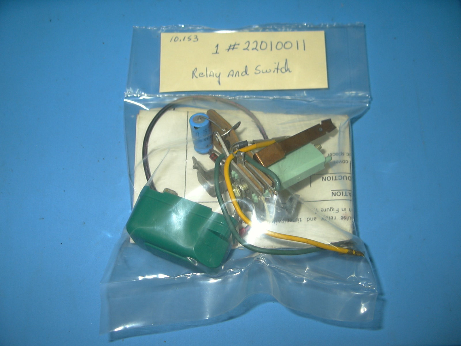 Oldsobsolete | 1975 ? 1979 GM Windshield Wiper Relay and Switch NOS