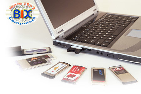 PCMCIA Cards for Laptop