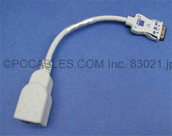 PCMCIA LAN CABLE E3CX TYPE 3COM/USR/MHZ MODEM,PCMCIA,LAPTOP,NETWORK