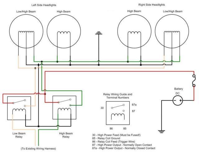 Peterbilt Headlight Wiring Diagram
