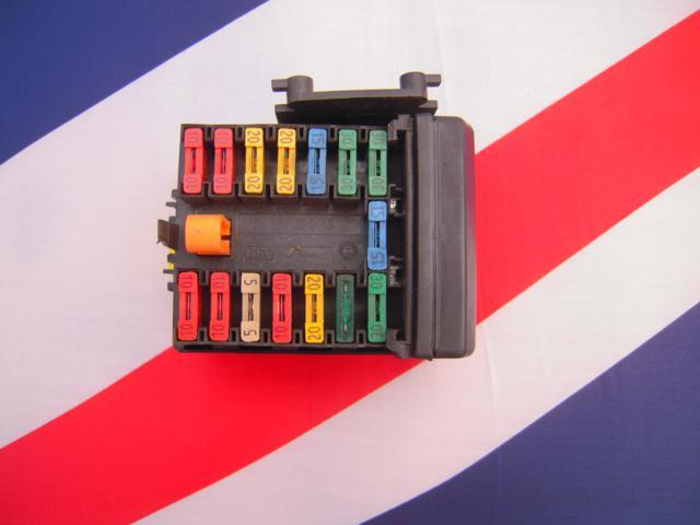 Peugeot 106 Citroen Saxo Genuine Complete Engine Bay Fuse Box Board