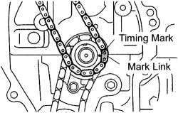 Photo: Let say if this is L5 timing chain diagram, the one mark with
