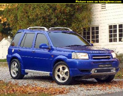 Photos of Land Rover Freelander. Photo tuninglandroverfreelander02