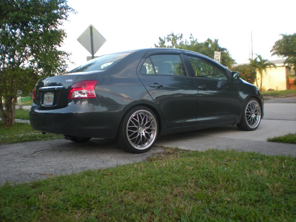 pics of your Yaris with aftermarket rims here  Page 56  Toyota Yaris