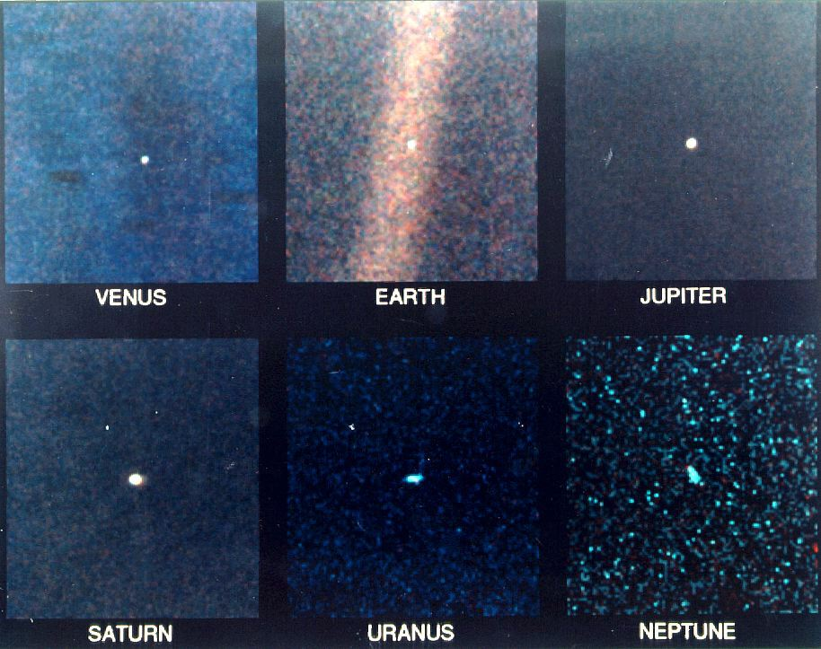 Pictures of Solar System Voyager 1