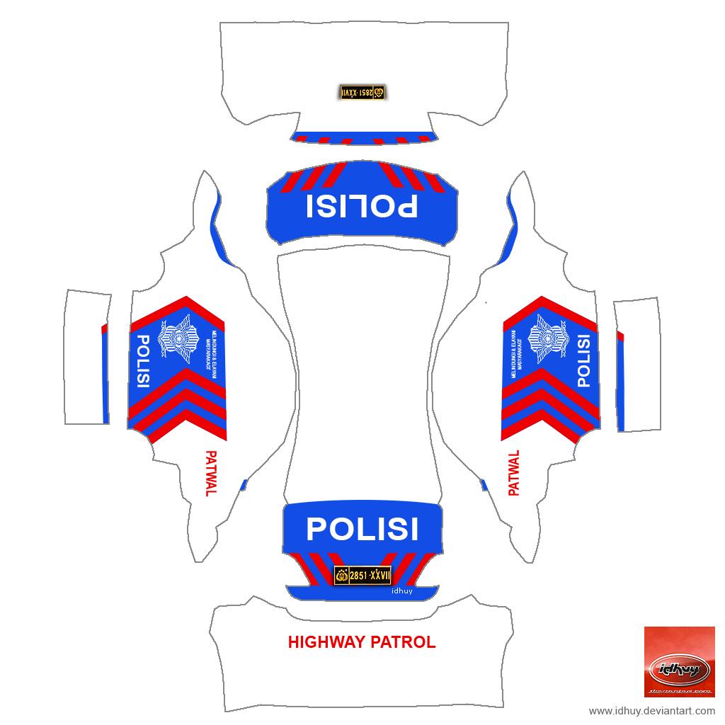 Police Car Graphics Templates