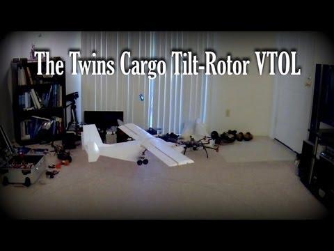 Rc Quad Tiltrotor Vtol Aircraft Retract W/doors Design | How To Save