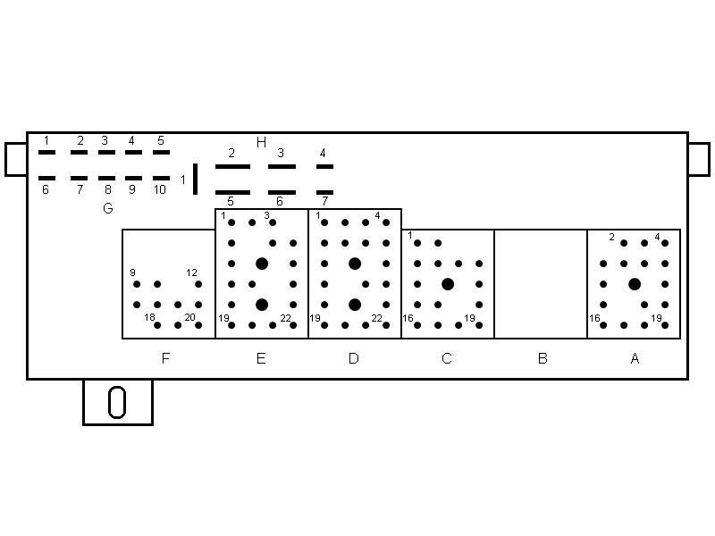 Re: Posición de fusibles y relays.