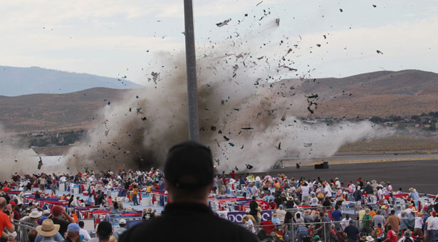 Reno Air Race Crash