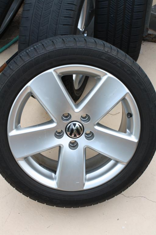 Rims and Tires for 2008 VW Passat