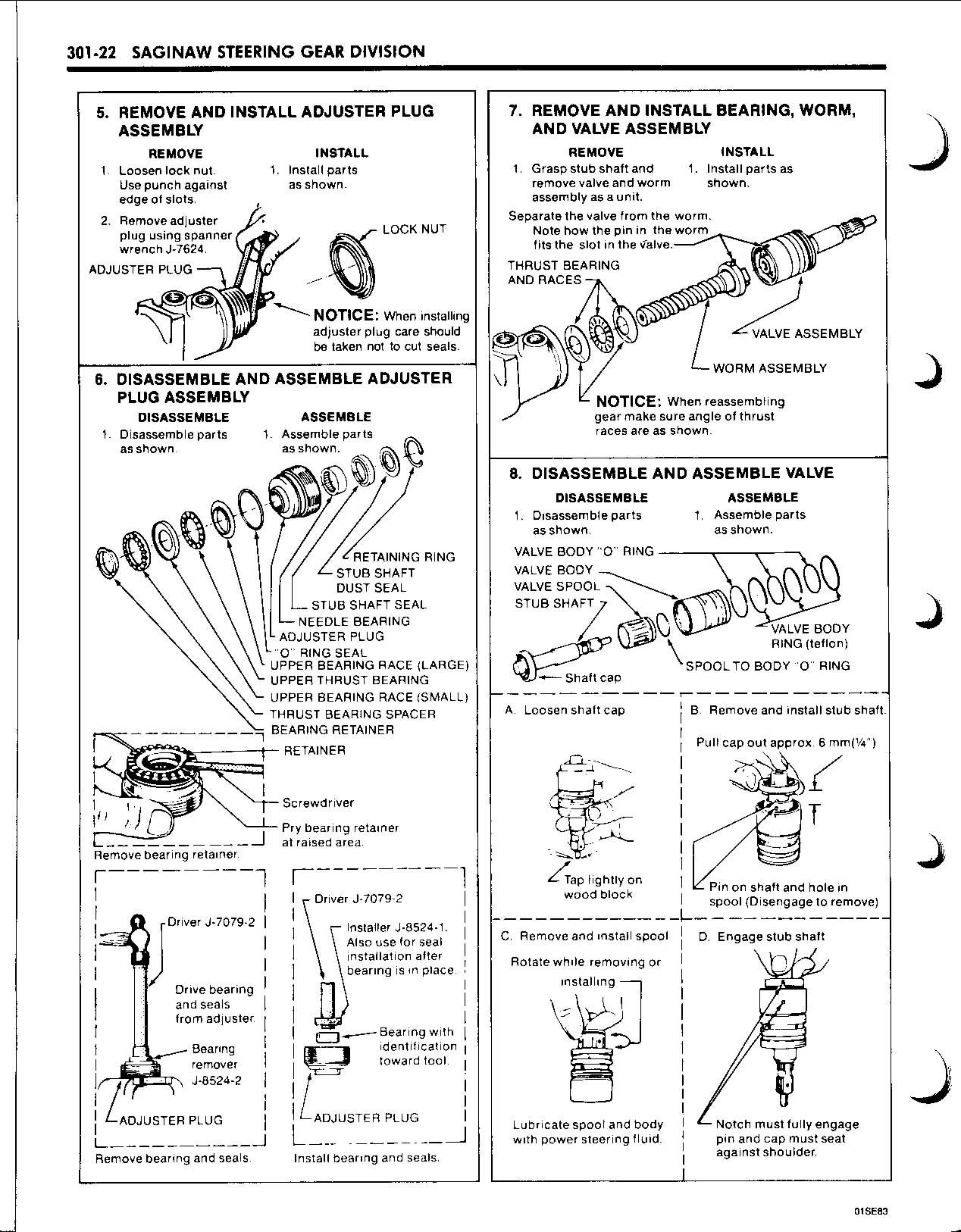 Saginaw Power Steering Box Diagram Image Details Nissan Micra K12 Fuse Guide