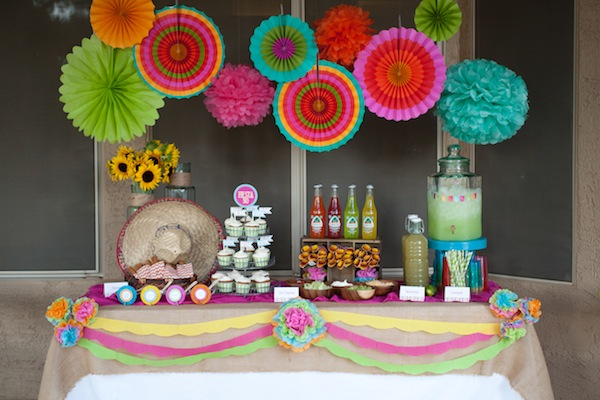 Seasonal Occasions Placemats Fiesta Time: Fiesta